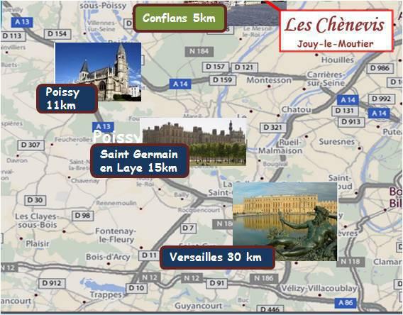 Les chenevis pr s cergy pontoise tourisme ouest de paris accueil velo london paris porte du vexin - Office du tourisme london ...
